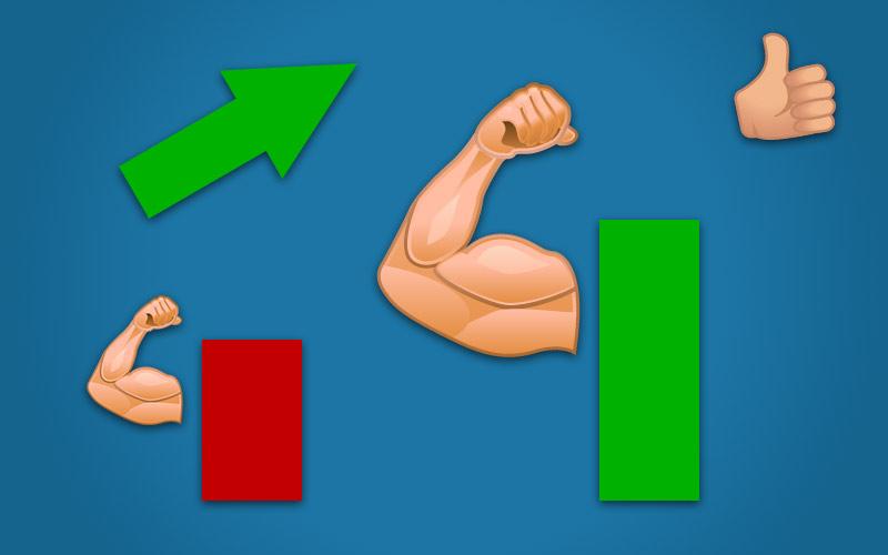Hvordan bygge muskler illustrasjon