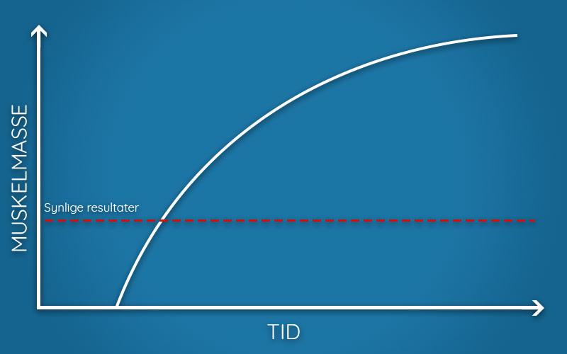 Hvor fort ser du synlige resultater av styrketreningen?