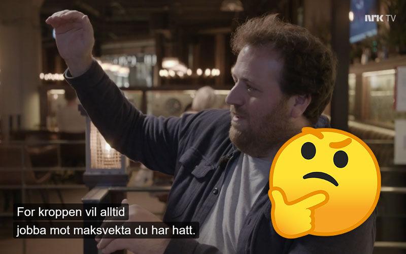 Eit feitt liv: Skam dere NRK… Og oppriktig tusen takk!